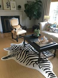 Zebra Rug Living Room On The Cheapmy Hunt For A Zebra Rug Lorri Dyner Design