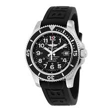 breitling superocean ii 42 black dial black rubber men s watch breitling superocean ii 42 black dial black rubber men s watch a17365c9 bd67bkpt3