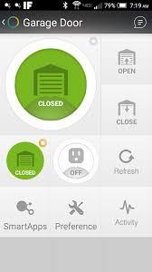 smartthings iris garage door opener designs