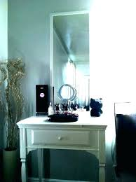 dressing table mirror with lights and bedroom makeup vanity canada