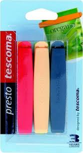 <b>Набор зажимов</b> для пакетов Tescoma <b>Presto</b>, цвет в ...