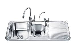 double bowl with drainboard kitchen sink od a kitchen sink double drainer