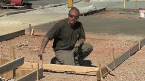 Making Cement Forms Concrete Forms Forming Concrete With Wood Forms Youtube