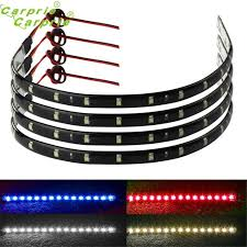 auto car styling 4 x 30cm 15 led light strips turn signal light light motorcycle