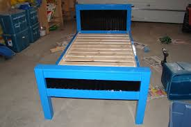 picture of build a twin bed