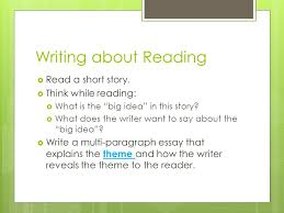 good morning writing about reading iuml a short story writing about reading iuml130155 a short story