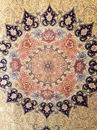 silk persian rug number 2884b lot number 22