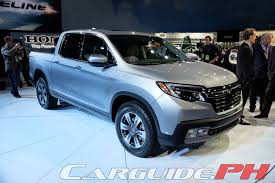 new car launches in philippinesNAIAS 2016 2017 Honda Ridgeline is Conventional Yet