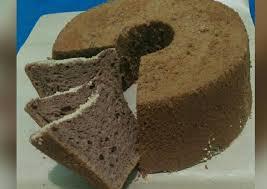 Kue bolu coklat mudah buatnya | chocolate cotton sponge cake bahan bahan = ingredients: Resep Chiffon Cake Coklat Enak Kreasi Masakan