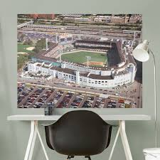 chicago white sox comiskey park aerial mural giant officially licensed mlb removable wall graphic
