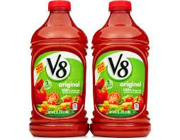 v8vegetable juice