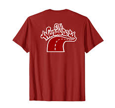 Unique Apparel Designs Amazon Com The Wanderers Tshirt Clothing