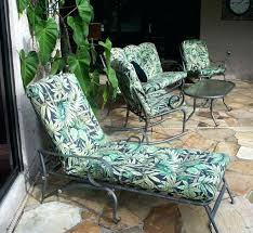 chaise replacement cushion and island martha stewart patio cushions furniture home depot everyday 2