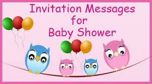 how to word a baby shower invitation invitation messages for baby shower invitation wordings sample