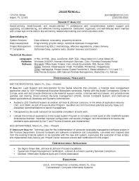 Associate Analyst Resume Clinical Associate Information Systems