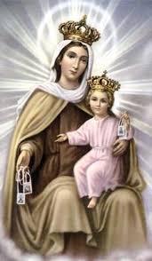 Resultado de imagem para Nossa Senhora do Carmo