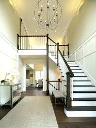 2 story foyer two entry with round table chandelier large chandelier height foyer 2 story