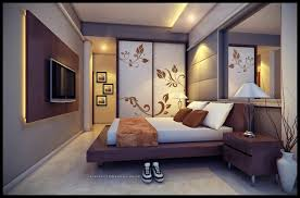 Warm Bedroom With Cool Wall Art Walls That Pack A Punch Bedrooms