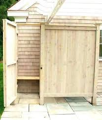 outdoor shower enclosure outdoor shower door outdoor shower enclosure plan designs plans home improvement outdoor shower