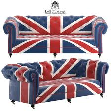 union jack furniture. William Sofa Union Jack Velvet Andrew Martin 3d Model Max Obj Fbx Mtl 1 Furniture I