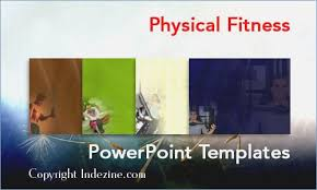 Physical Fitness Powerpoint Templates Free Playitaway Me