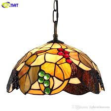 tiffany stained glass pendant lamp restaurant handmade lamp shade modern pendant drop ceiling light fixtures from lightintheroom 140 7 dhgate com