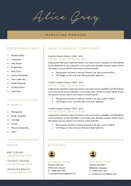 Resume Templatecv Template Ad Sponsored Docxworklayoutdoc