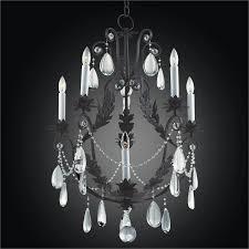 wrought iron and crystal chandelier cau 554hd6lmi 7c