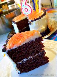 Vegan Chocolate Birthday Cake The Healthy Family And Home