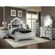 Elements LH700 Leighton Manor Antique White Bedroom Set