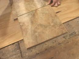 dry fit tiles to determine layout