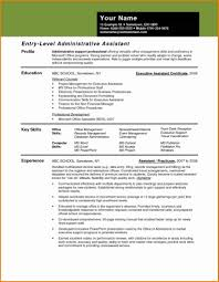 Microsoft Office Resume Samples Executive Administrative Assistant Resume Sample 60 Samples 56