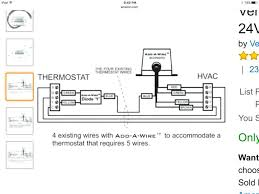 how to wire a 2 wire thermostat 2 wire thermostat installing Heat Pump Thermostat Wiring Colors at 6 Wire Thermostat Wiring Diagram