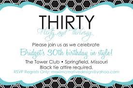 funny 30th birthday invitations