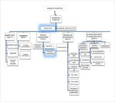 Sample Project Organization Chart 14 Free Documents In