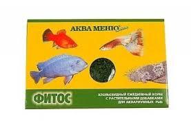<b>Корм Аква Меню Фитос</b> для рыб - купить в ЮниЗоо в Москве или ...