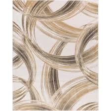 well woven london cooper multi 8 ft x 11 ft modern geometric circles waves