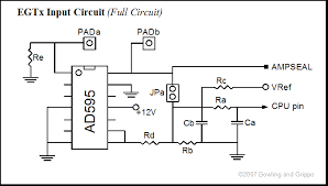 gpio egt input circuits note that the egt circuits can be used as general purpose inputs for resistance measurements such as temperature senders or voltage measurements such as
