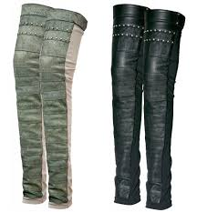 leather leg warmers psylo