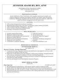 Nursing Resume Skills Nurse Rn Resume Entry Level