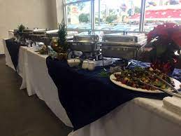 Penske Toyota Downey 2016 Holiday Buffet For 250 Guests Holidays Buffet Wedding Catering Catering