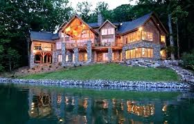 lakefront home plans modern house plans medium size lakefront home plans with walkout basement awesome waterfront