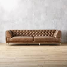 saddle leather sofa gallery modern chesterfield sofas
