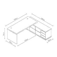 Standard Desk Depth Matesand Co