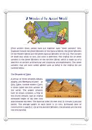 answer the question being asked about essay on wonders of the world new seven wonders of the world 2013 essay