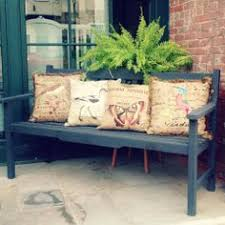 dont forget that chalk paint can be used on your outdoor projects too this bench was painted using graphite chalk paint decorative paint by annie sloan bench painted chalk paint
