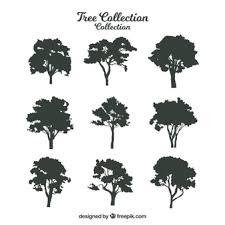 木のシルエット に関するベクター画像写真素材psdファイル 無料
