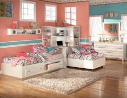 corner bedroom furniture. the furniture kids bedroom set with two twin beds and corner bookcase mi furniture