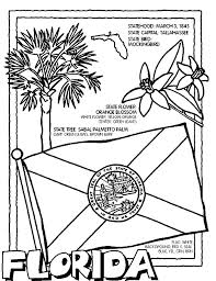 Oklahoma State Tree Coloring Pages Luxury Florida State Symbols