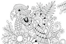 Free Printable Hard Coloring Pages Adult Coloring Pages Abstract